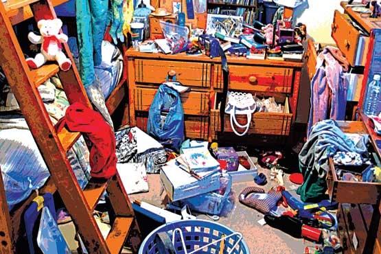 خوابگاه آشفته ی دانشجویی