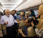 واکنش به عدم سوخت رسانی به هواپیمای ظریف
