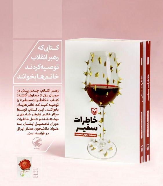 نگاهی به کتاب خاطرات سفیر، نوشته نیلوفر شادمهری