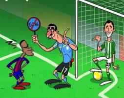 داور بازی های فوتبال