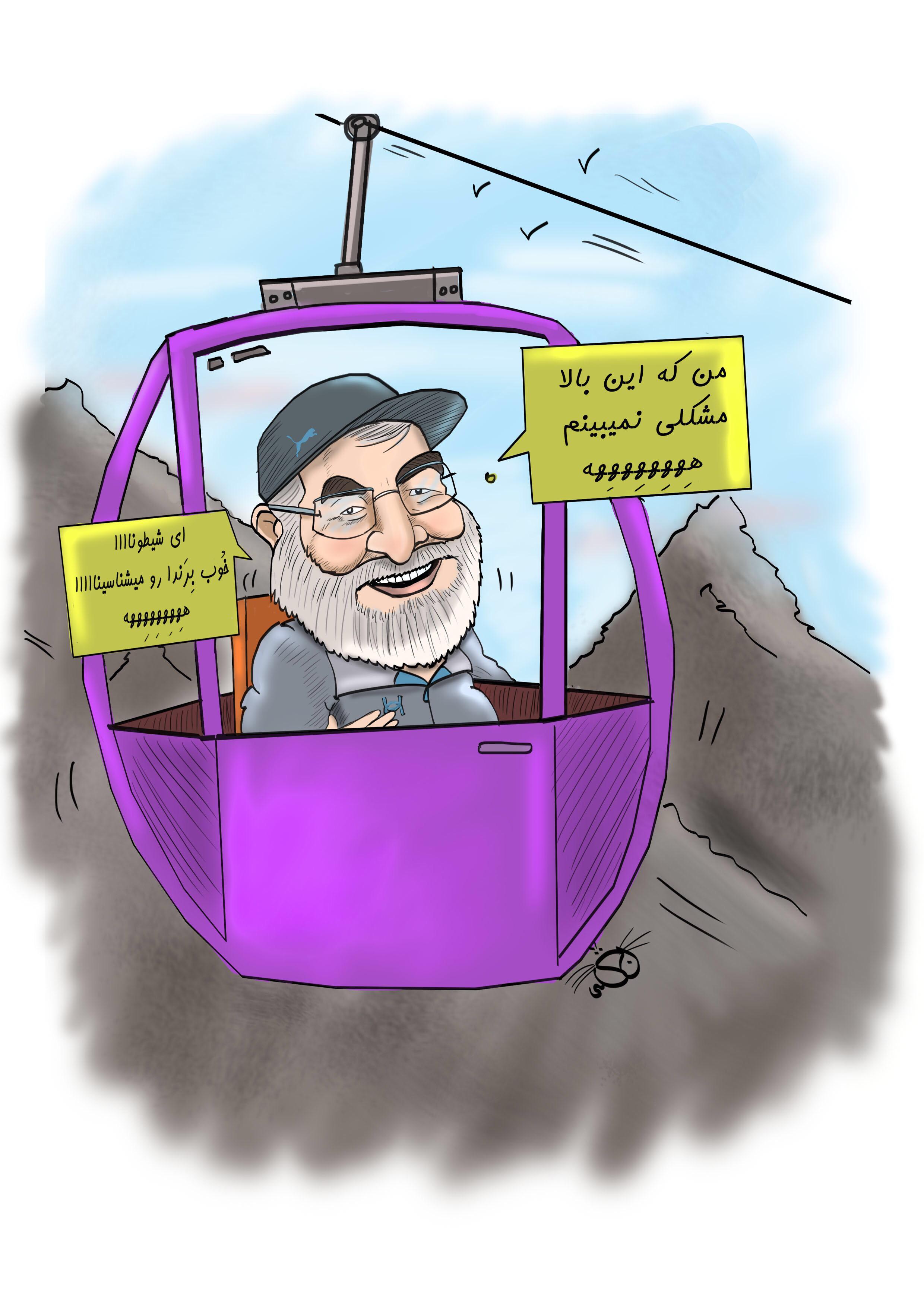 بازدید رییس دولت از توچال