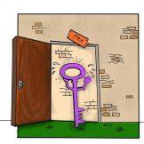 کلید روحانی و درهای بسته