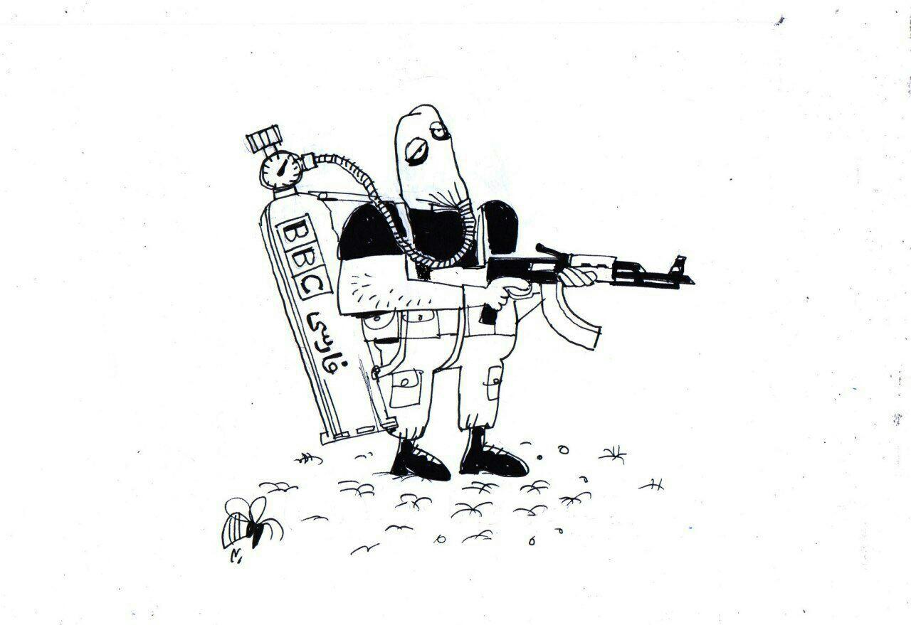 یک موجود بی هوازی تروریست الاحوازی!