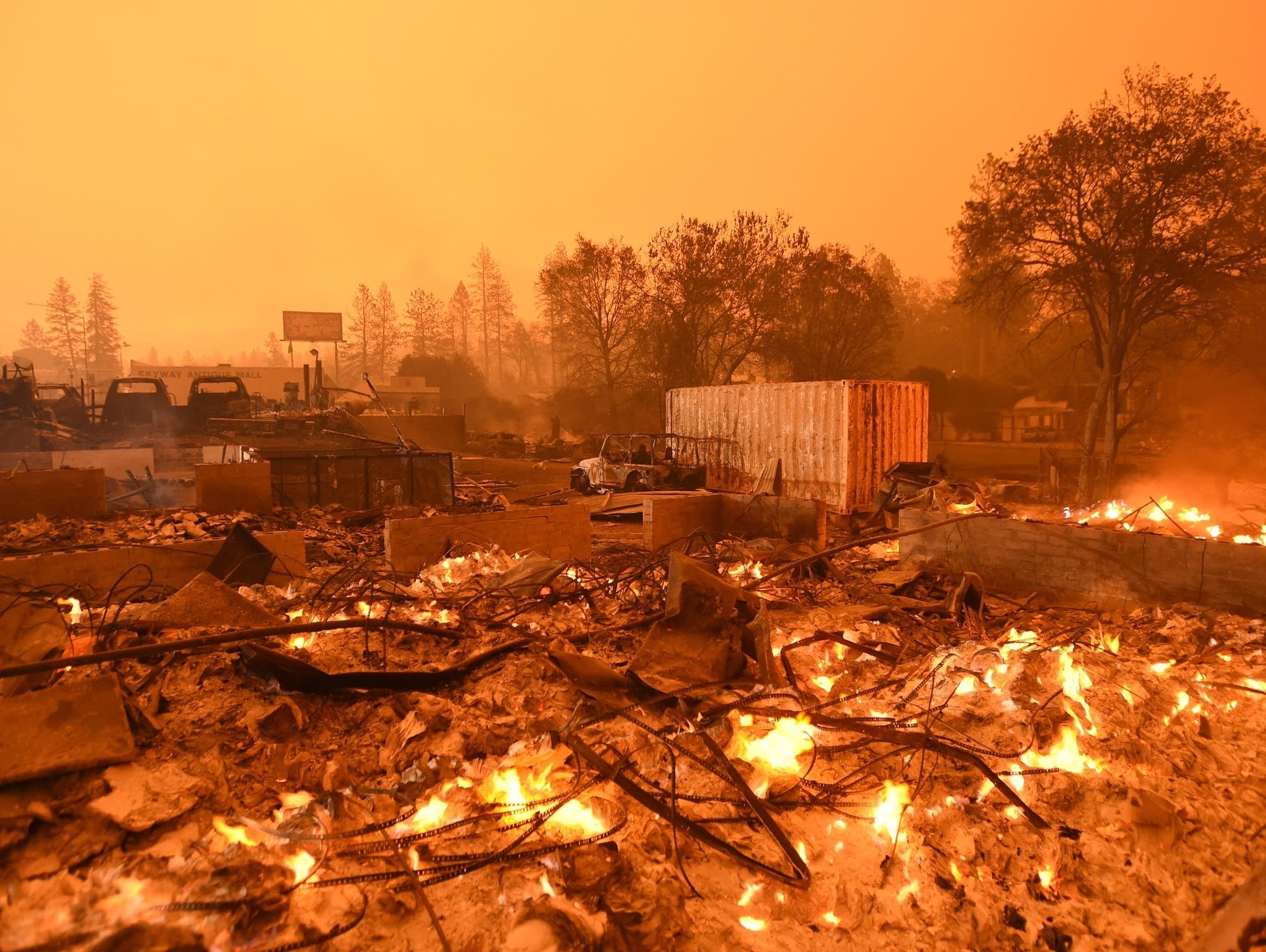 کالیفرنیا در آتش
