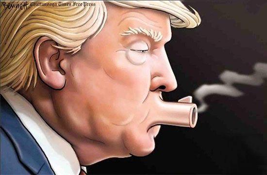 لجبازی ترامپ با ایران