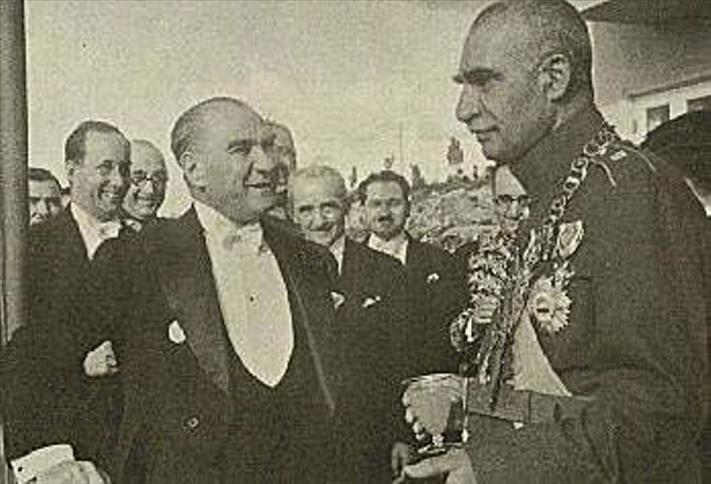 رضاه شاه و اتاتورک