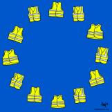 سرایت جلیقه زردها به اتحادیه اروپا