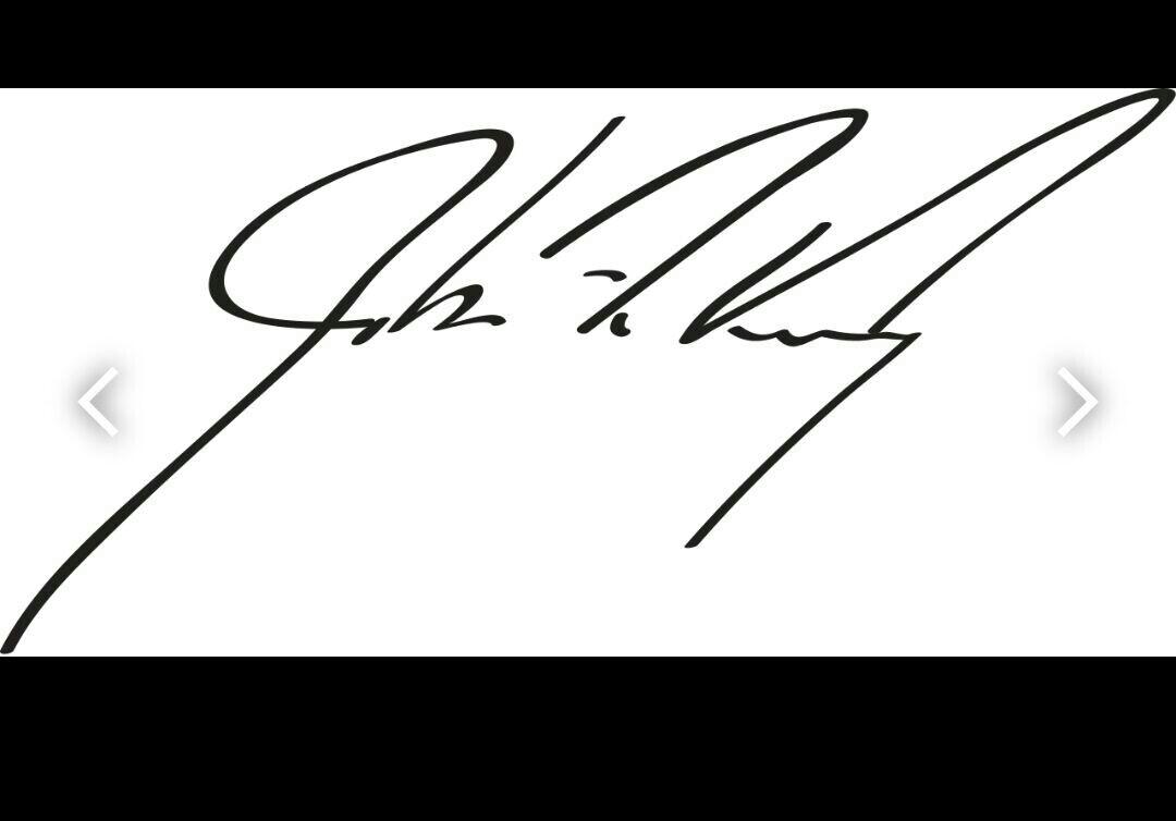 امضا جان کری تضمین ست