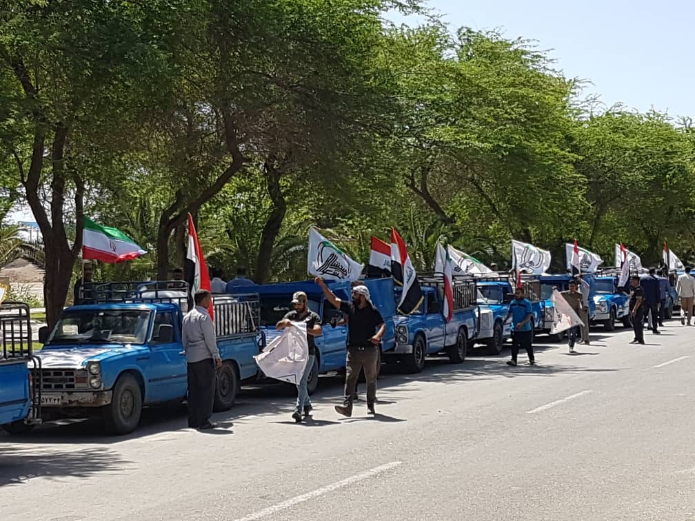 کمک عراقی ها به سیل زدگان