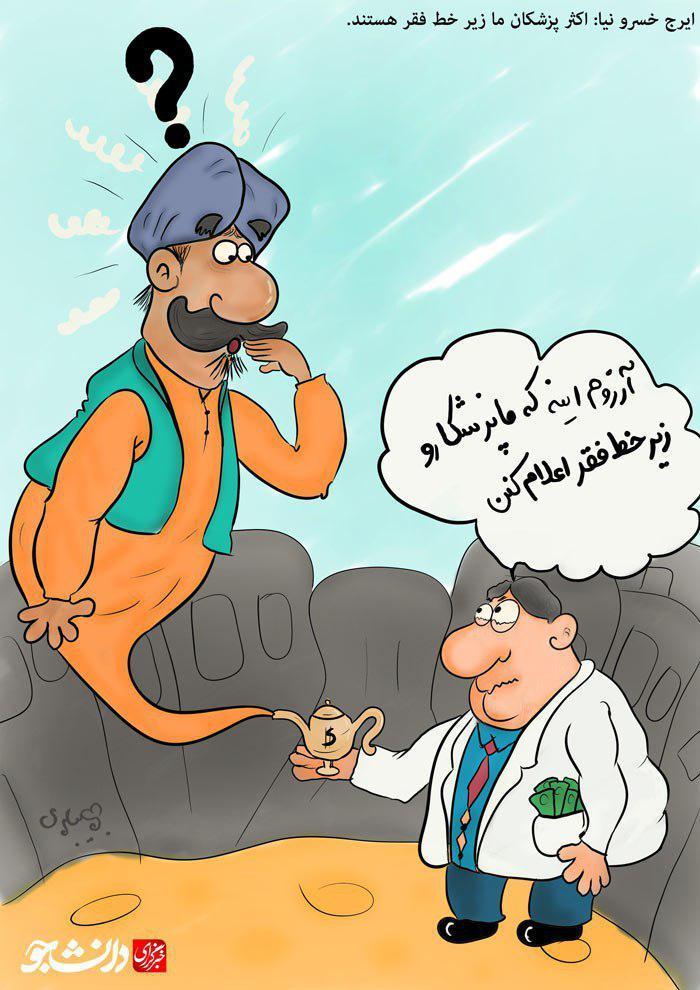 پزشکان،زیر خط فقر